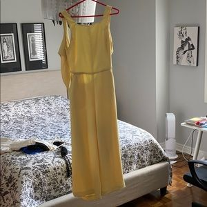 Yellow Wilfred Écoulement Jumpsuit - size 8